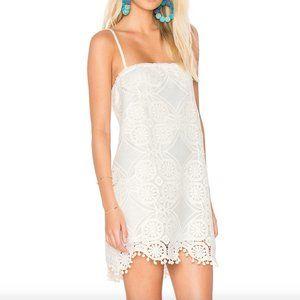 BB Dakota Lace Danna Dress in Cloud White